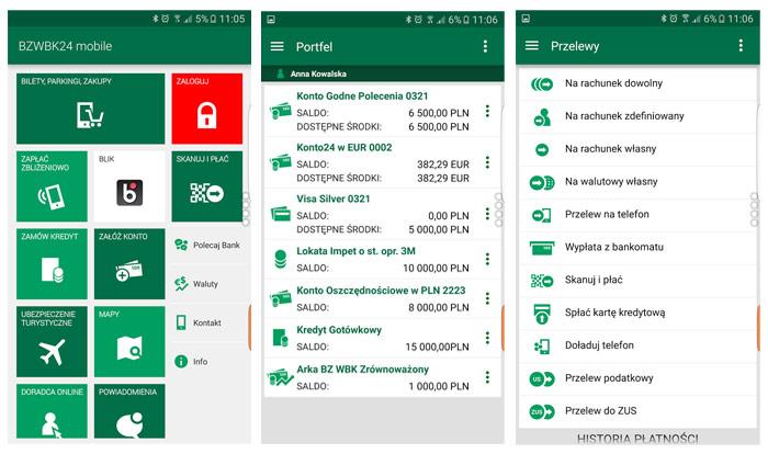 Aplikacja mobilna Konto Godne Polecenia