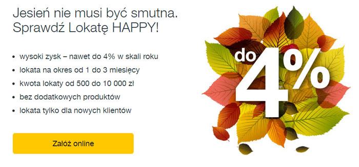Nowa oferta lokaty Happy w Idea Banku